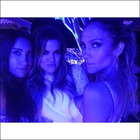 jlo and khloe