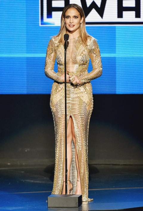 Jennifer Lopez Wore 11 Outfits At The Amas 2015 Style