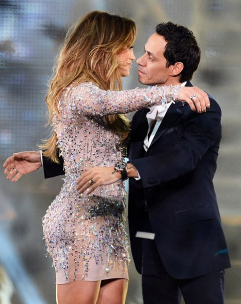 jlo and marc embrace