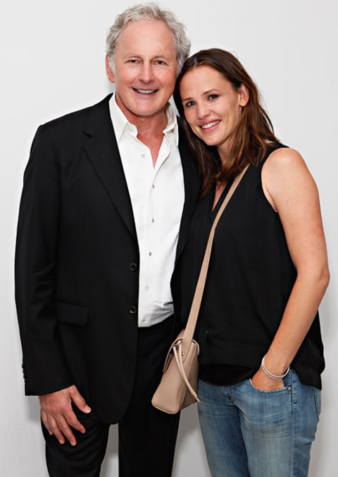 Jennifer Garner and Victor Garber