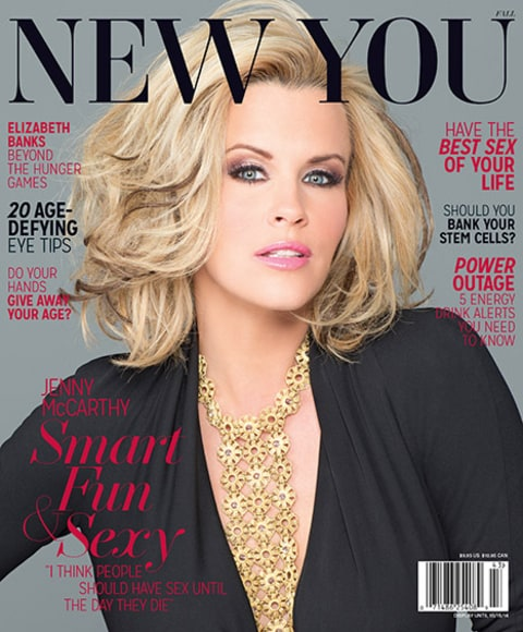 Jenny McCarthy New You Cover