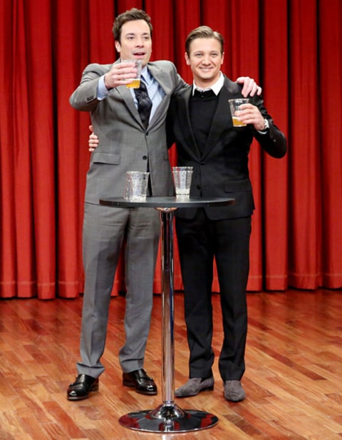 jeremy renner and jimmy fallon