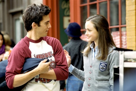 Milo Ventimiglia and Alexis Bledel in Gilmore Girls