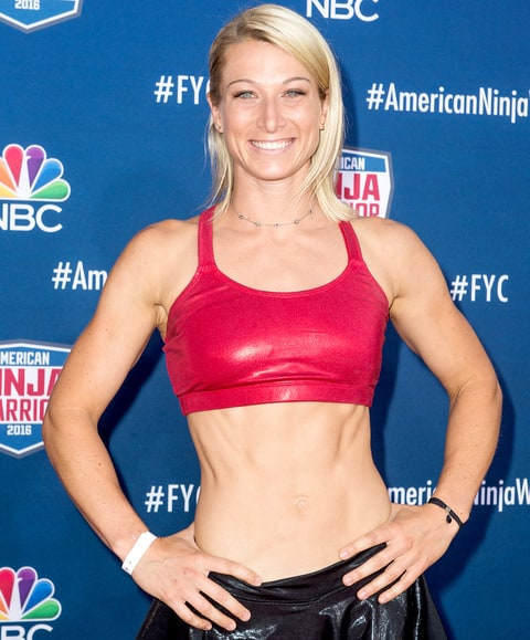 Jessie Graff attends the screening event of NBC's 'American Ninja Warrior' in celebration of the show's first Emmy Award nomination at Universal Studios Hollywood on Aug. 24, 2016, in Universal City, CA.