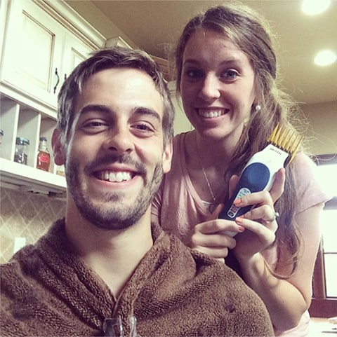 Jill and Derick haircut