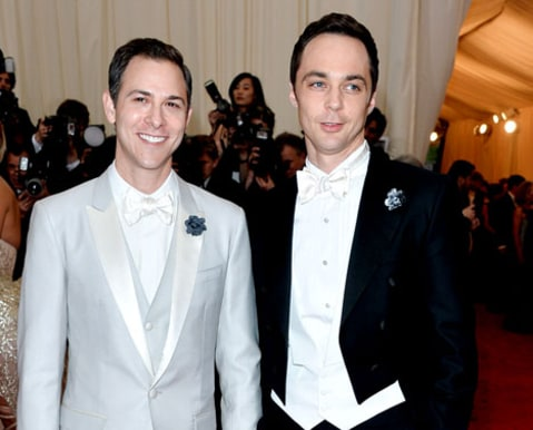 Jim Parsons and long term partner Todd Spiewak