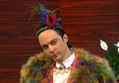 Jim Parsons on SNL