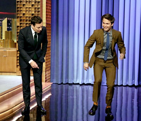 Ansel Elgort - Jimmy Fallon