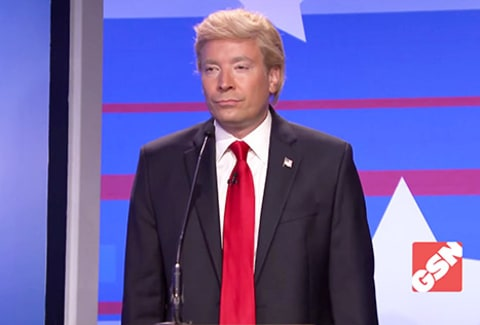 Jimmy Fallon as Donald Trump