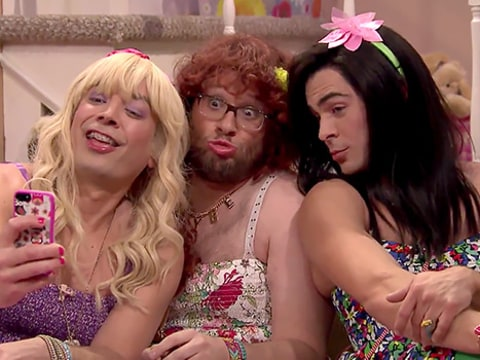Zac Efron, Seth Rogen and Jimmy Fallon