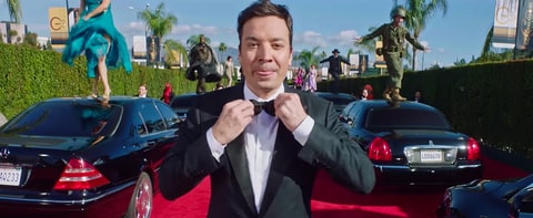 Jimmy Fallon Golden Globes teaser opener