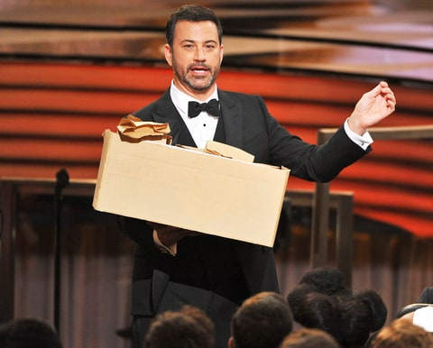 Jimmy Kimmel slams Donald Trump in Emmys speech
