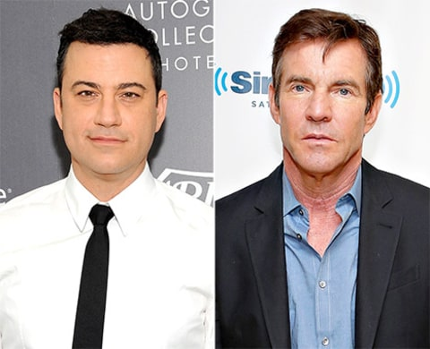 jimmy kimmel and dennis quaid
