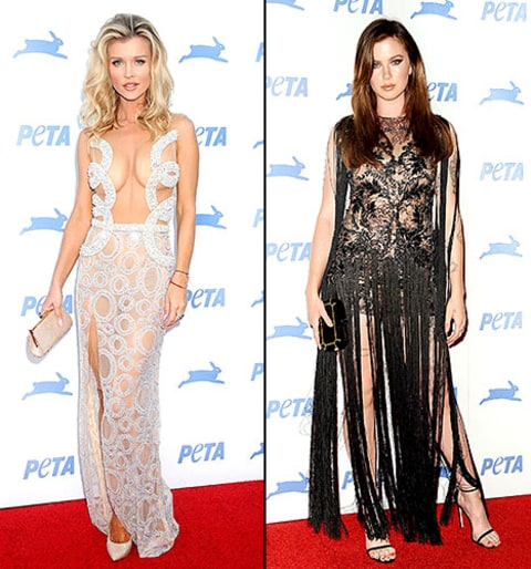 Naked and Painted Joanna Krupa Makes Point Against Orca