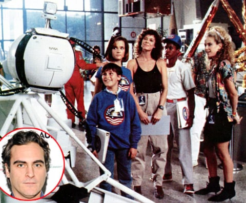 Joaquin Phoenix Space Camp