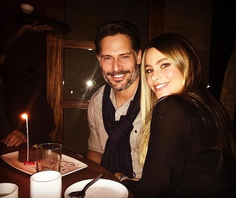 Sofia Vergara and Joe Manganiello celebrate his birthday