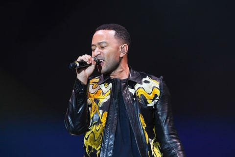 John Legend performs onstage at 2016 Many Rivers To Cross Festival at Bouckaert Farm on October 2, 2016 in Fairburn, Georgia.