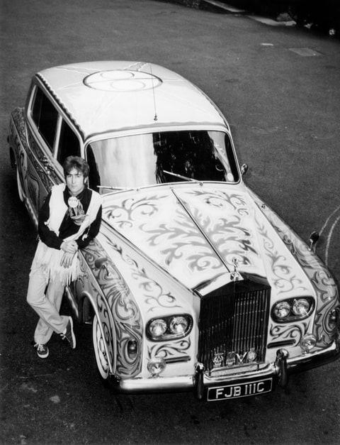 John Lennon Rolls-Royce Phantom V Psychedelic Beatle-Mobile