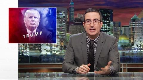 John Oliver Reveals Donald Trump's 'Secret to Success'; Sets Off #MakeDonaldDrumpfAgain