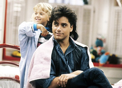John Stamos as Uncle Jesse in Full House