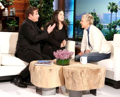 John Travolta okay with daughter dating