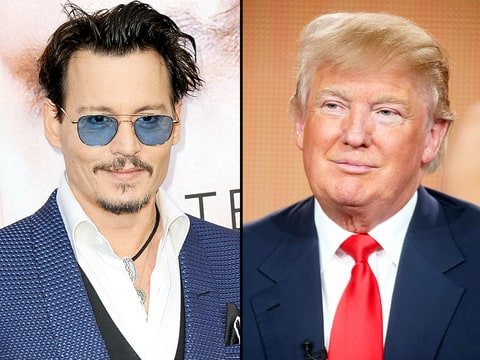 Johnny Depp and Donald Trump