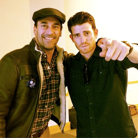 Jon Hamm and Bryan Greenberg for Obama
