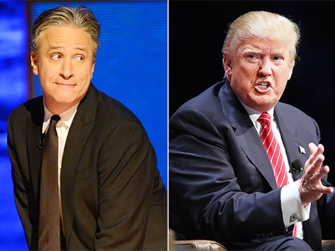 jon stewart vs donald trump