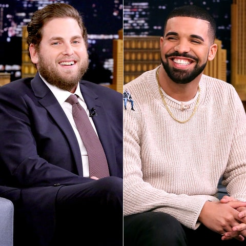 Jonah Hill and Drake