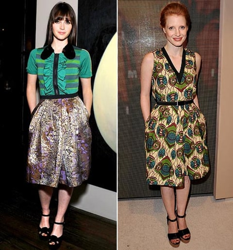 Felicity Jones/Jessica Chastain