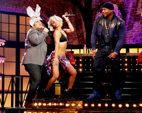 Josh Gad, Kaley Cuoco and LL Cool J