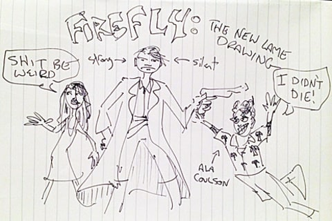 joss whedon firefly cartoon