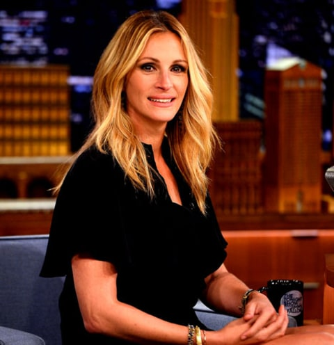 Julia Roberts on Fallon
