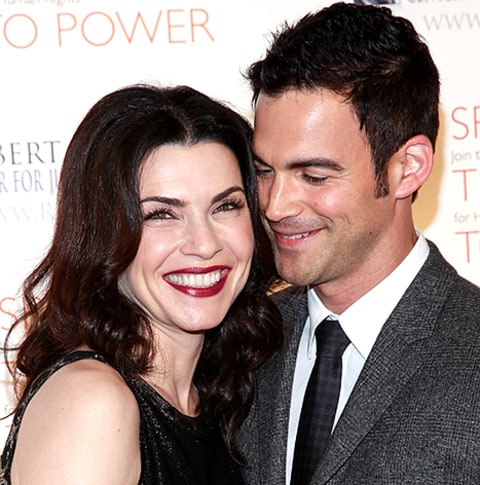 Julianna Margulies and Keith Lieberthal 2010