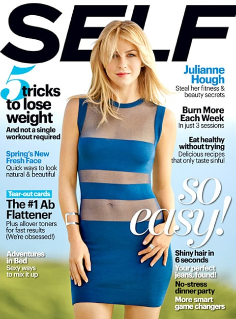 Julianne Hough - Self Magazine