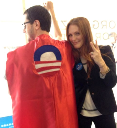 Julianne Moore for Obama