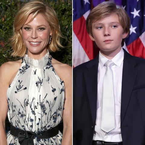 actress julie bowen criticized making barron trump