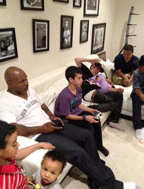 justin bieber and mike tyson