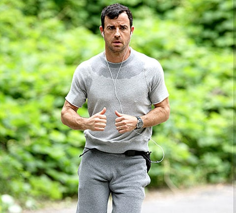 theroux jogs