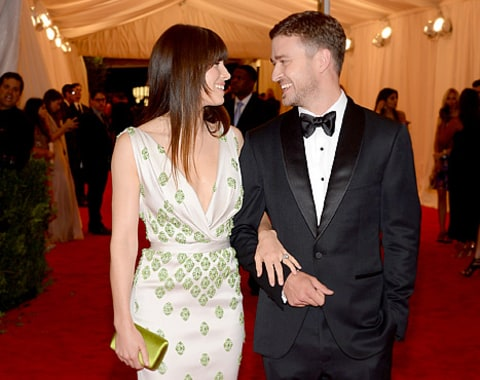 JT and biel at met