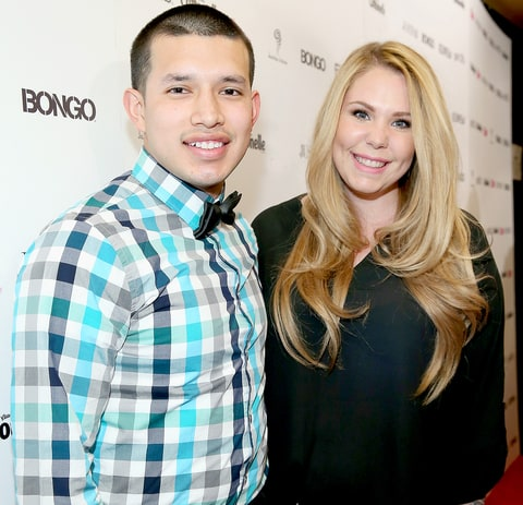 Kailyn Lowry and Javi Marroquin in 2014.