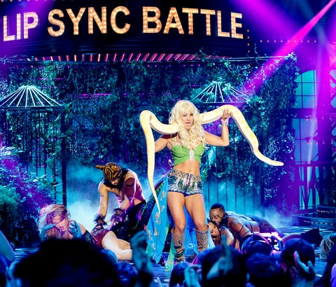 Kaley Cuoco on 'Lip Sync Battle'