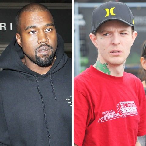 Kanye West and Deadmau5