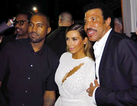 kimye and lionel richie