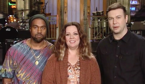 Kanye West on SNL