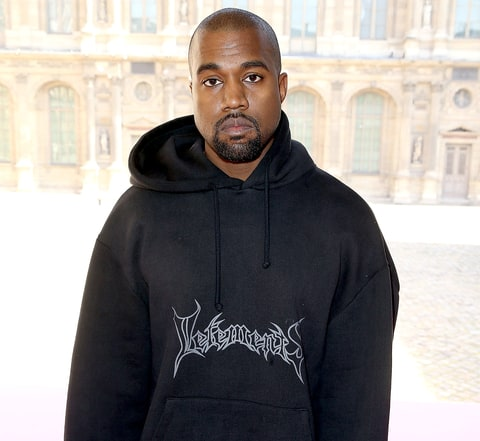 Kanye West attends the Christian Dior show as part of the Paris Fashion Week Womenswear Fall/Winter 2015/2016 at Cour Carree du Louvre on March 6, 2015 in Paris, France.