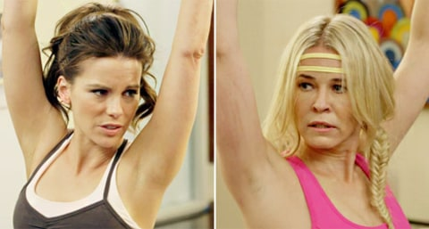Kate Beckinsale and Chelsea Handler