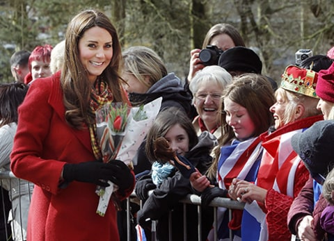 Princes Catherine in Scotland