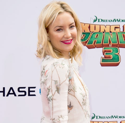 Kate Hudson attends the Premiere of Kung Fu Panda 3, in Hollywood, California, on January 16, 2015.