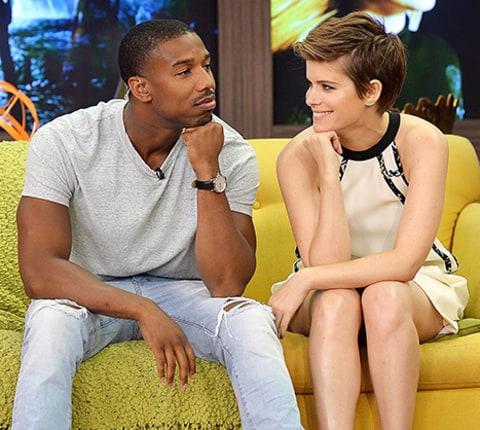 kate mara and michael b. jordan